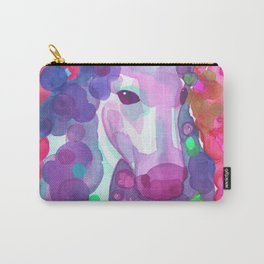 Enchanted Forest Unicorn - Pink Palette Carry-All Pouch