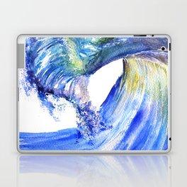 Watercolor Sunny Wave Laptop & iPad Skin
