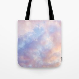 cotton candy clouds Tote Bag