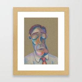 Mr. Clarence (The Gentlemen Series) Framed Art Print