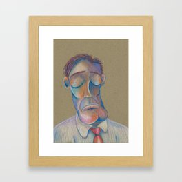 Mr. Clarence (The Gentlemen Series) Framed Art Print