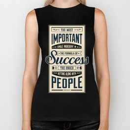 Lab No. 4 The Most Important Theodore Roosevelt Motivational Quotes Biker Tank