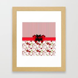 Chirstmas Stockings Framed Art Print