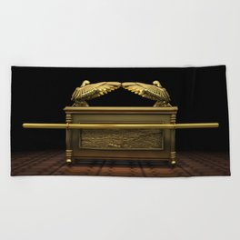 Ark of the Covenant Beach Towel