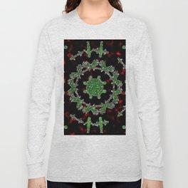 Extraterrestrial Mandala Long Sleeve T-shirt