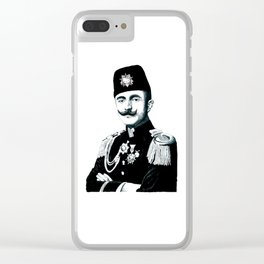 The Officer Kitty Clear iPhone Case