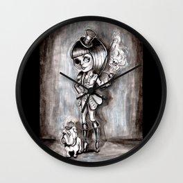 Miss Terry Riddles Wall Clock