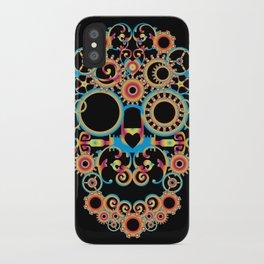 00 - STEAMPUNK BLACK iPhone Case