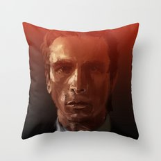 Christian Bale Throw Pillow