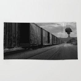 Nuke Train Beach Towel