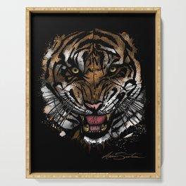 Tiger Face (Signature Design) Serving Tray
