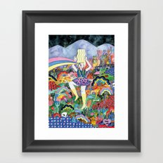 Esper Framed Art Print