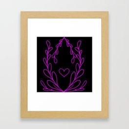 Simple Love 2 Framed Art Print