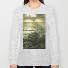 Porth Nanven, Cot Valley 1, Cornwall, England, United Kingdom Long Sleeve T-shirt
