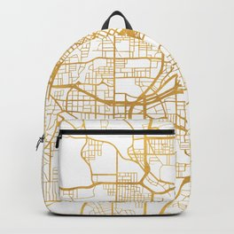 ATLANTA GEORGIA CITY STREET MAP ART Backpack