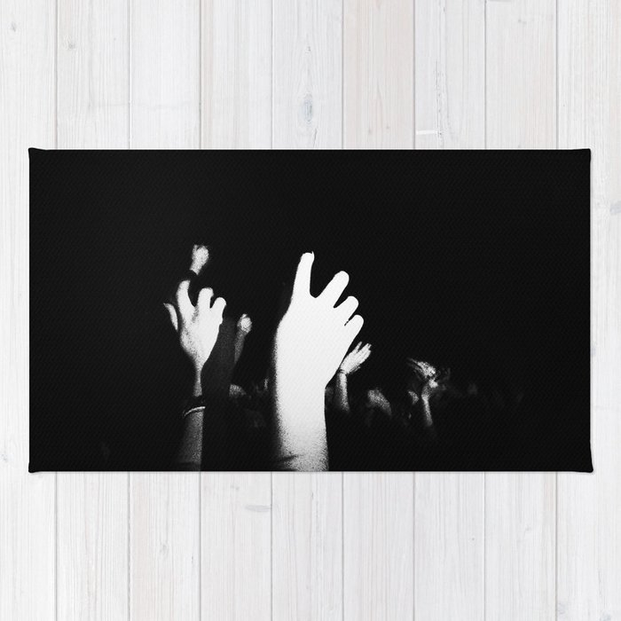 Hands In The Air Rug