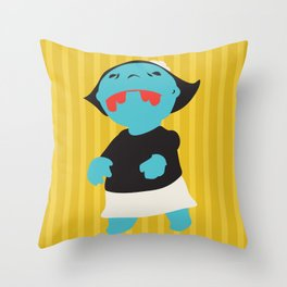 Zombie Betty Throw Pillow