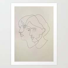 Virginia Woolf Art Print