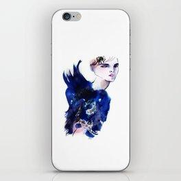 Blue Angel iPhone Skin