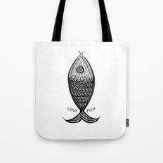 LoveFish Tote Bag