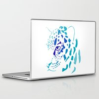 jaguar Laptop & iPad Skins featuring Jaguar by Icela perez bravo