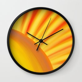 Sunshine Bright Wall Clock