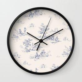 Animal Jouy Wall Clock