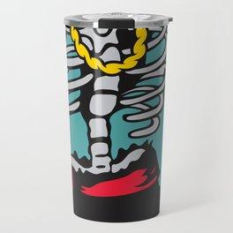 Drunk Skeleton Travel Mug