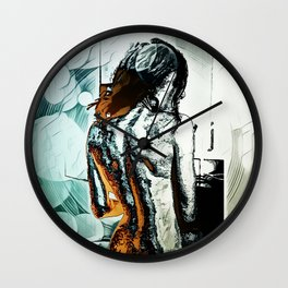Back Wall Clock