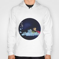swimming Hoodies featuring swimming by HanadaCreations