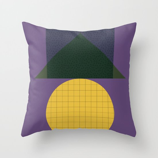 Cirkel is my friend V6 Throw Pillow