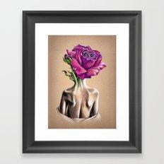Mollie Rose Framed Art Print