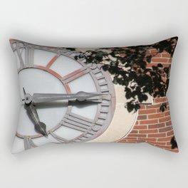 Keeping Time at University Hall Rectangular Pillow