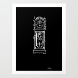 the witching hour. {blackxbone edition} Art Print