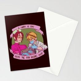 A saba a day Stationery Cards