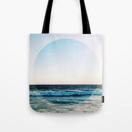 Vibrant Sea Horizon Tote Bag