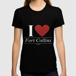 Fort Collins Colorado CO Coloradan T-shirt