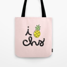 i heart charleston (nº 3) Tote Bag