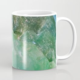 Absinthe Green Quartz Crystal Coffee Mug