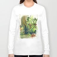 jungle Long Sleeve T-shirts featuring Jungle by Meredith Nolan