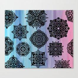 Zentangle Flow Canvas Print