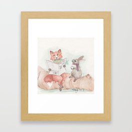 Woodland Gents Framed Art Print