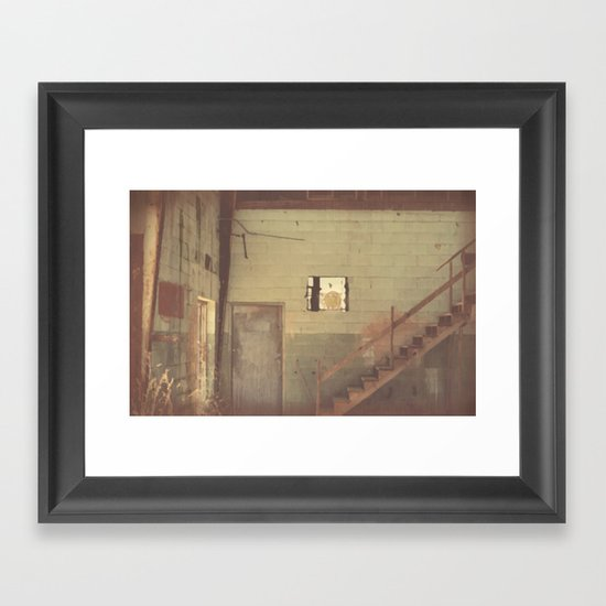 A Lonely Idea Framed Art Print