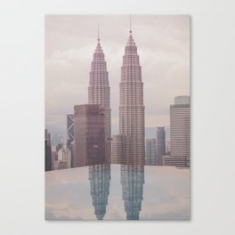 Petronas Twin Towers Kuala Lumpur Canvas Print