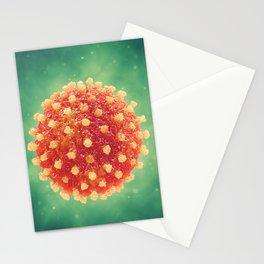 Pandemic virus Stationery Cards
