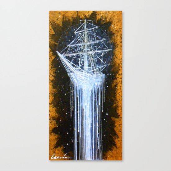 """Man-O-War II"" Canvas Print"