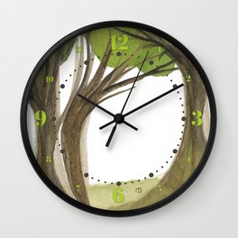 Duality Tree Wall Clock