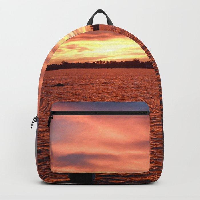 Florida Sunset Backpack