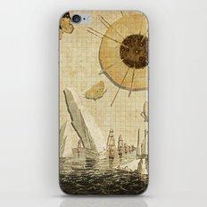 paper I :: butterflies/icebergs iPhone & iPod Skin