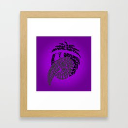 Raven Nation Framed Art Print